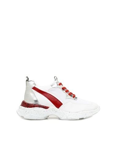 Divarese 5023909 Kadın Sneaker Beyaz